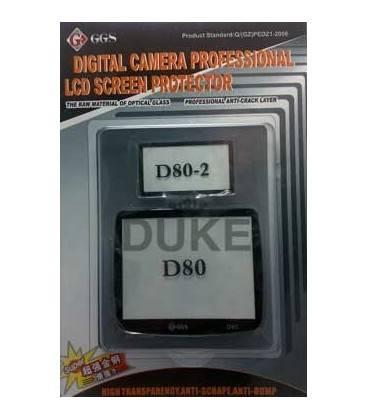 GGS PROTECTOR PANTALLA LCD NIKON D80