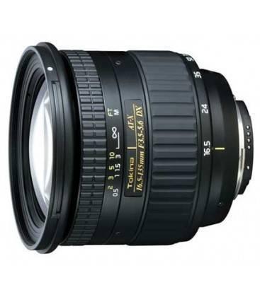 TOKINA 16.5-135mm f/3.5-5.6 AT-X DX PARA CANON