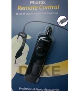 PHOTTIX CONTROL REMOTO SMALL N8 PARA NIKON F5/ F6/ F100/ F90X/D1/ D1H/ D1X/ D2/ D3/ D2Hs/ D2X/ D2Xs/ D200/ D300/ D700