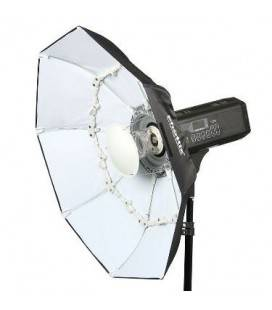 PHOTTIX DIFUSOR SOFTBOX FOLDING BEAUTY DISH 70CMS BLANCO