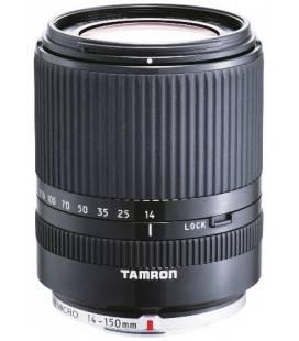 TAMRON OBJETIVO AF 14-150 mm F:3.5-5.8 Di III MICRO CUATRO TERCIOS (52mm) (PANASONIC Y OLYMPUS) PLATA/NEGRO