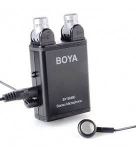BOYA MICROFONO ESTEREO CON CAPTACION VARIABLE BY-SM80
