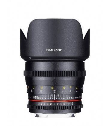SAMYANG 50MM T1.5 AS UMC VDSLR PARA CANON