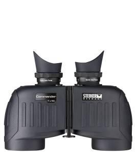 STEINER PRISMÁTICO COMMANDER 7x50 K CON BRÚJULA (7550)