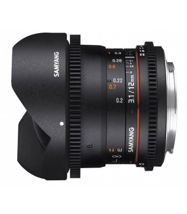 SAMYANG 12MM T3.1-22 ED AS NCS VDSLR SONY E