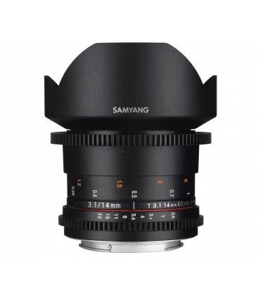 SAMYANG 14mm T3.1 V-DSLR ED AS IF UMC SONY