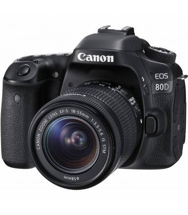 CANON EOS 80D + KIT 18-55MM IS STM + SD 16GB CLASE 10