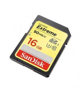 SANDISK EXTREME SDHC Card 16GB 90MB/s