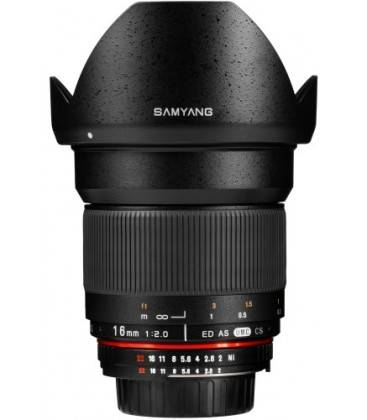 SAMYANG 16MM F2.0 ED AS UMC CS (CANON)