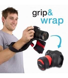 MIGGO GRIP & WRAP PARA CAMARAS DSLR (NEGRO)