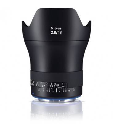 CARL ZEISS MILVUS 18MM F/2.8 ZE CANON