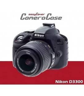 EASYCOVER FUNDA PROTECTORA PARA LA NIKON D3300/d3400 NEGRO