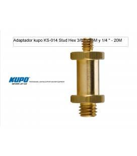 KUPO ESPIGA HEX KS014 3/8 '' - 16M y 1/4 '' - 20M