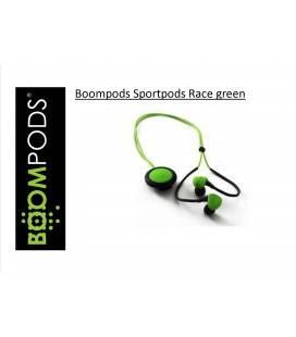 BOOMPODS AURICULAR SPORTSPODS RACE -VERDE BLUETOOTH CONTROL/CLIP