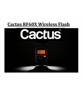 CACTUS FLASH UNIVERSAL INALAMBRICO RF60X