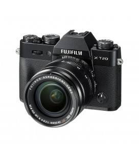 FUJIFILM X-T 20 + XF 18/55MM F2.8-4 R LM OIS (BLACK) NEGRA