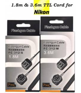 PIXEL CABLE I-TTL FC-312S SC-28 PARA NIKON 1.8M