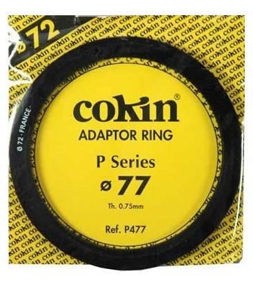 COKIN ANILLA ADAPTADOR SERIE P DE 77 MM.