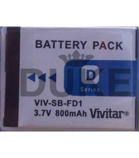 VIVITAR BATERIA NP-FD1 P/SONY T-77 - T90