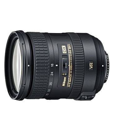 NIKON 18-200mm f/3.5-5.6 G ED VR II AF-S DX NIKKOR