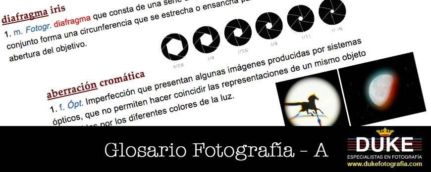 Glosario de Términos de Fotografía - A