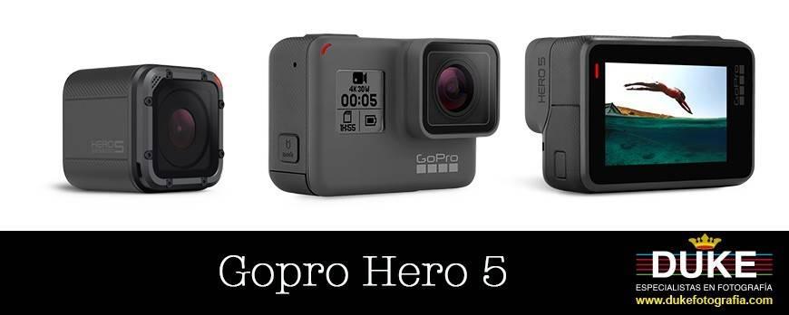 Gopro Hero 5, Facilidad y Simplicidad