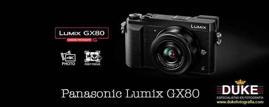 Promoción pre-order Panasonic Lumix GX80