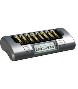 POWEREX LADEGERÄT MH-C800S PACK PLUS MIT 8 BATTERIEN 2700MA