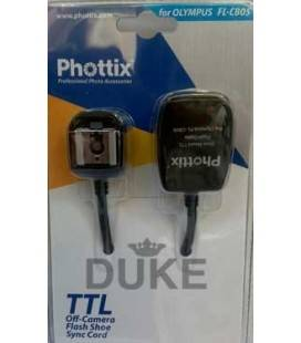 PHOTTIX FL-CB05 CABLE EXTENSION TTL PARA OLYMPUS