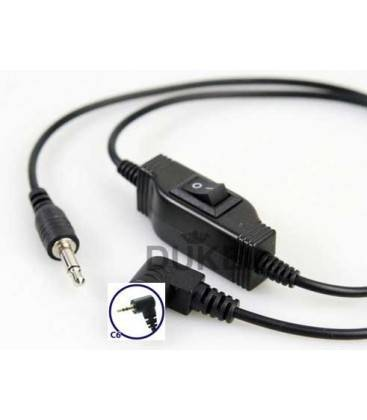 PHOTTIX CABLE EXTRA ESPIRAL C6 PARA CANON EOS 400D-450D-500D-550D-1000D - 60D