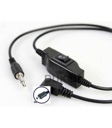 PHOTTIX ATLAS O6 CABLE FOR OLYMPUS E520-E510-E420-E410- SP-570UZ - SP-560UZ - SP-550UZ - SP-510UZ