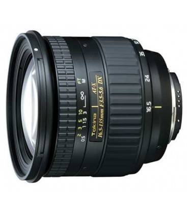 TOKIN 16.5-135mm f/3.5-5.6 AT-X DX POUR CANON