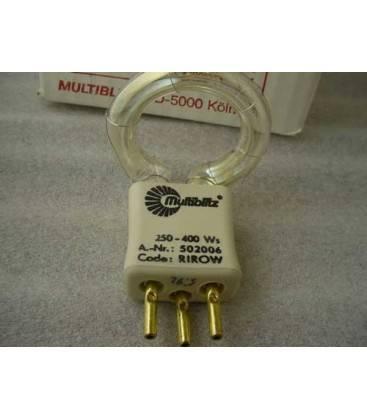 LAMPADA FLASH MULTIBLITZ RIROW 250/400