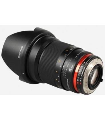 SAMYANG 35 mm f1.4 AE BIG ANGULAR FOR NIKON
