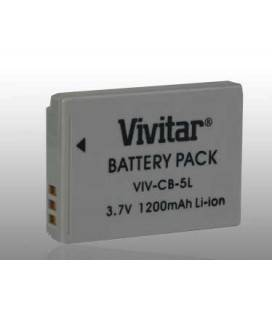 VIVITAR LITHIUM BATTERY NB-5L FOR CANON S100 / S110