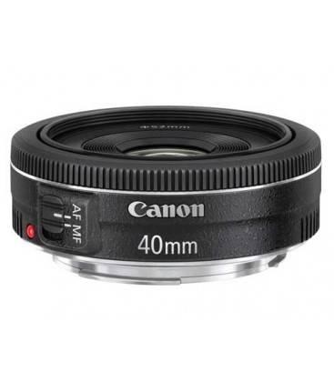 CANON EF 40mm f/2.8 STM + FREE 1 an VIP MAINTENANCE SERPLUS CANON
