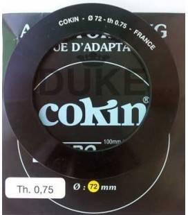 ADATTATORE AD ANELLO IN COKIN RING SERIE Z 72 MM.