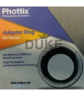 PHOTTIX ADAPTER M42 TO MICRO 4/3