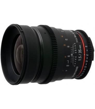 SAMYANG 35mm T1.5 V-DSLR PARA NIKON