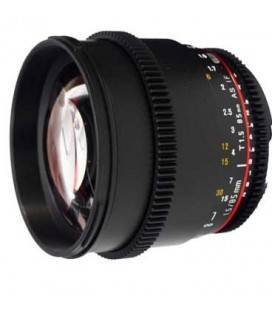 SAMYANG 85mm T1.5 V-DSLR II FOR NIKON