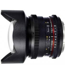 SAMYANG 14mm T3.1 V-DSLR II FOR CANON