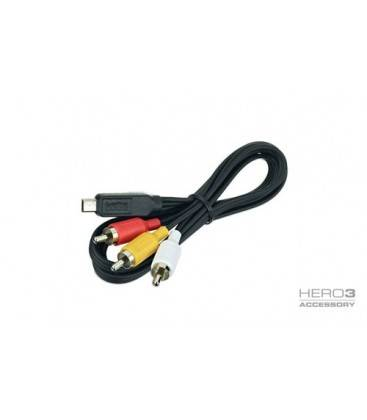 GOPRO COMPOSITE CABLE FOR HERO3 (ACMPS-301)