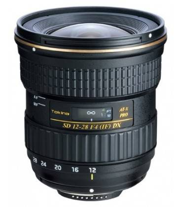 TOKINA 12-28MM F/4.0 AT-X PRO DX POUR CANON