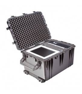 FILM 1660 BRIEFCASE WITH FOAM PROTECTION - SILVER