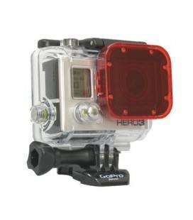 GOPRO HERO 3 RED DIVE FILTER FOR HERO 3- WHITE-SILVER AND BLACK CAMERAS (ADVFR-301)