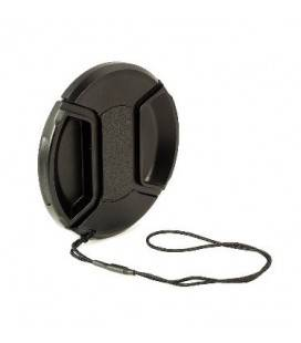 KAISER FRONT LENS COVER WITH STRING FOR 49MM-52MM-55MM-58MM-62MM-67MM-72MM-77MM-82MM