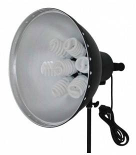CROMALITE LUCE DIURNA 7 LAMPADE 28 W.+ DIFFUSORE. 3 POTENZE