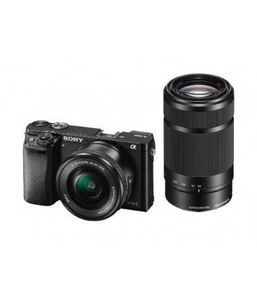 SONY A6000 KIT CON 16-50mm + 55-210mm