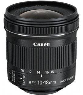CANON EF-S 10-18mm f/4.5-5.6 IS STM + 1 ANNO GRATUITO SERPLUS CANON VIP MAINTENANCE SERPLUS per la manutenzione VIP