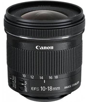 CANON EF-S 10-18mm f/4.5-5.6 IS STM + 1 ANNO GRATUITO SERPLUS CANON VIP MAINTENANCE SERPLUS per la manutenzione VIP